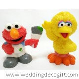 Sesame Street Elmo, Big Bird Toy Figures - SSSCT01H (2pcs)