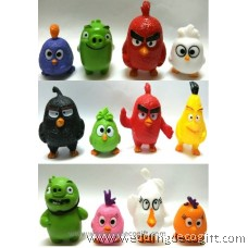 Angry Bird Cake Topper Figures - ABCT01