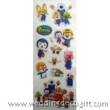 Pororo Sponge Sticker, Buy More Save More - POSK0101