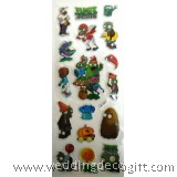 Plants vs. Zombies Sponge Sticker, Buy More Save More  - PZSK0101