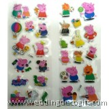 Peppa Pig Sponge Stickers, Buy More Save More - PPSK01