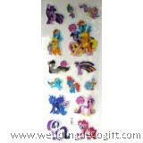 My Little Pony Sponge Sticker, Buy More Save More - MLPSK01