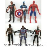 Action Heroes Captain America, Hawkeye, Spider-man, Ant-Man, Falcon, Winter Soldier – AVF10