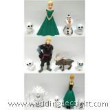 Disney Frozen Elsa, Anna, Olaf Cake Topper - CCT36