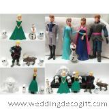 Disney Frozen Elsa, Anna, Olaf Cake Topper