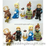 Frozen Disney Elsa, Anna, Olaf, Kristoff Toy Figures - CCT37
