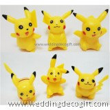 Pokemon Pikachu Cake Topper Figurines- PMCT02