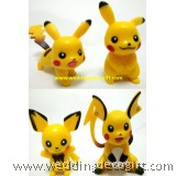 Pokemon Pikachu Cake Topper Figures- PMCT03