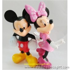 Mickey Mouse, Minnie Mouse Toy Figures -MMF05