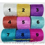 7 row Rhinestone Ribbon, Diamond Mesh Ribbon – RRS701