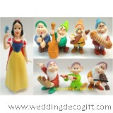 Snow White and the Seven Dwarf Cake Topper Figurine - SNCT05