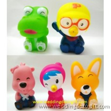 Pororo, Crong, Eddy, Petty, Loopy Bath toy, Pororo the Little Penguin Cake Topper Toy - POCT04