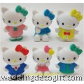 Hello Kitty Toy Figures Cake Topper - HKCT14