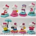 Hello Kitty Toy Figures Cake Topper - HKCT15