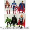 Action Figures Superman, Thor, Captain America, Batman,Iron Man, Hulk -AVF11