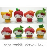 Hello Kitty Fruits Toy Figures - HKCT17