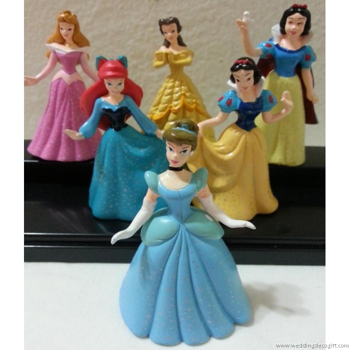 Cinderella Princess Figurines Cake TopperDisney Princess Toy CCT01