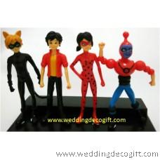 Miraculous Ladybug Toy Figurines - MLF01