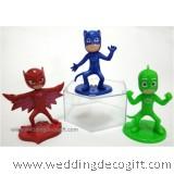 PJ Masks Cake Topper Toys Figures - PJCT01