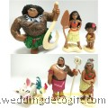 Moana Toy Figures Cake Topper - MOCT01