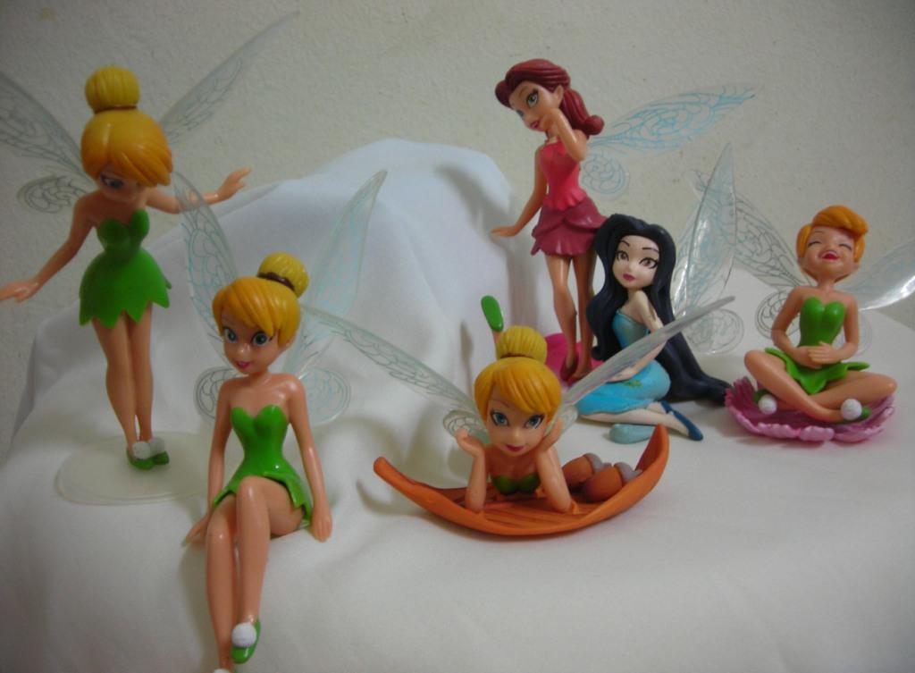 Tinkerbell Figurine Disney Fairies Cake Topper Fairy