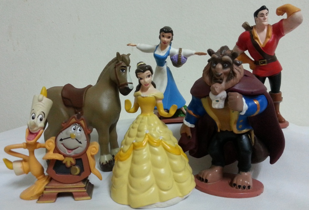 Beauty Amp The Beast Figurine Cake Topper Decoration
