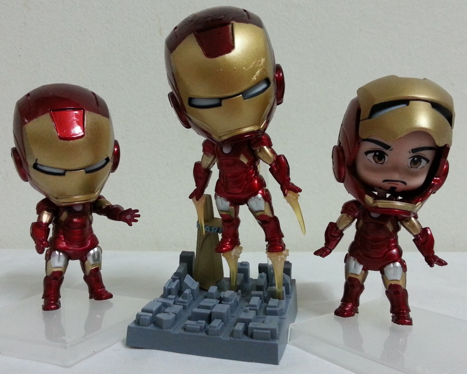 iron man 3 toy figurine iron man 3 cake topper. Black Bedroom Furniture Sets. Home Design Ideas