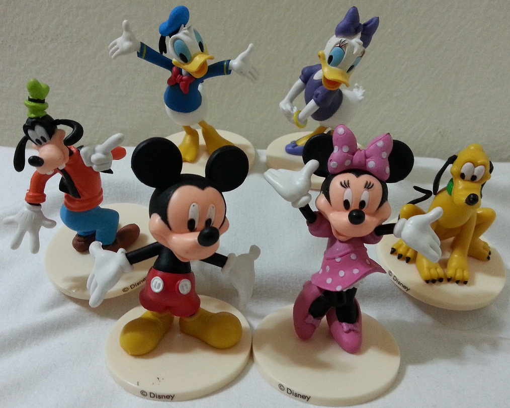 Mickey Mouse Minnie Mouse Daisy Donald Duck Cake Topper
