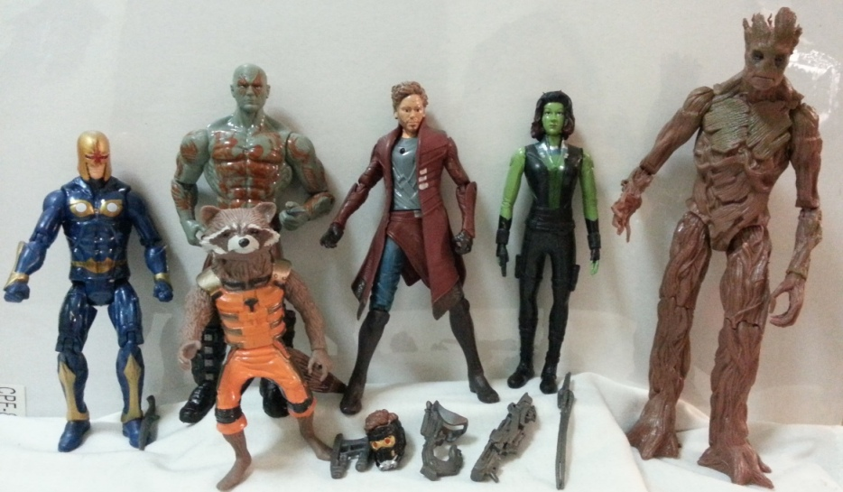 Guardian Of The Galaxy Toy Figures