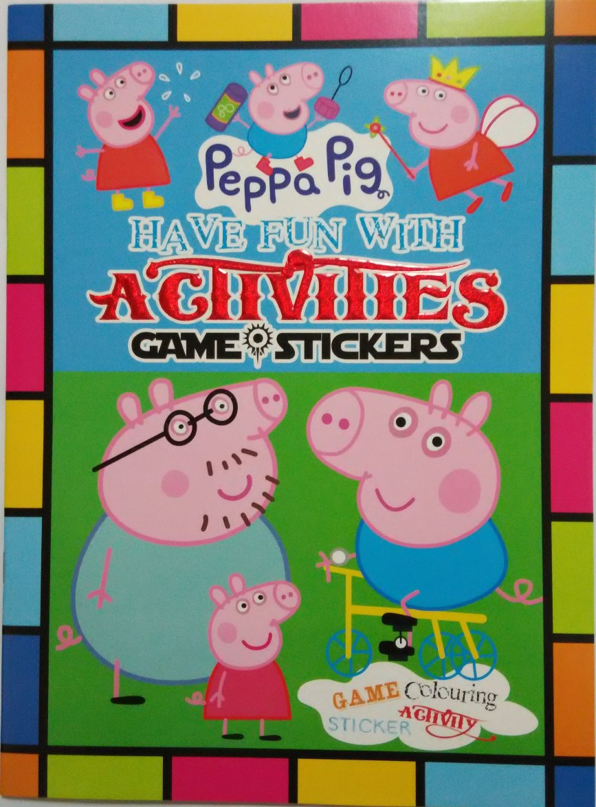 Peppa Pig Activity Coloring And Sticker Book