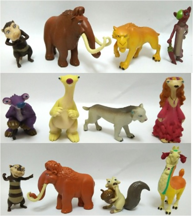 Ice Age Cake Topper Toy Figurine